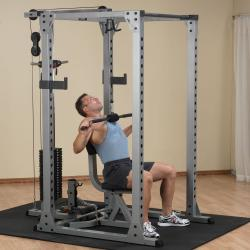 Commercial PowerRack & Selectorised Lat Attachment