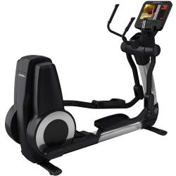 Elevation Series Cross Trainer with SE3HD Console - Arctic Silver