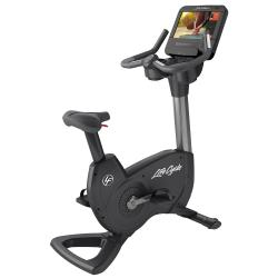 Elevation Series Upright Bike with SE3HD Console – Titanium Storm