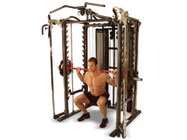 Inspire Full Smith Cage System w SCS bench leg unit & preacher