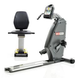 ISO1000R Recumbent Bike Standard Seat Charcoal