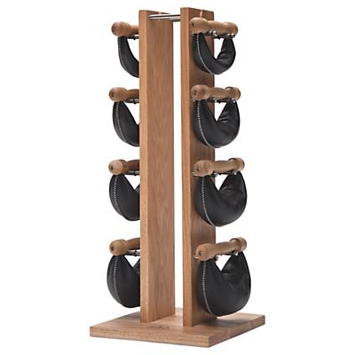 NOHrD by WaterRower Swing Bell Weights Tower Set, Oak