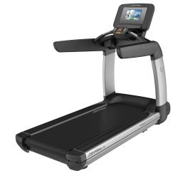 Platinum Club Series Treadmill with DISCOVER SI Console (Arctic Silver)