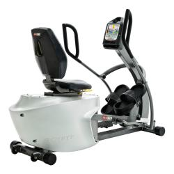REX7001 Recumbent Elliptical Trainer with Foot Straps Cool Grey