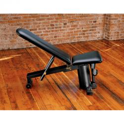 Vector Incline/Decline Bench (Black Frame & Upholstery)
