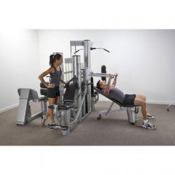VX48 Multi Gym (Silver Frame/Black Upholstery)